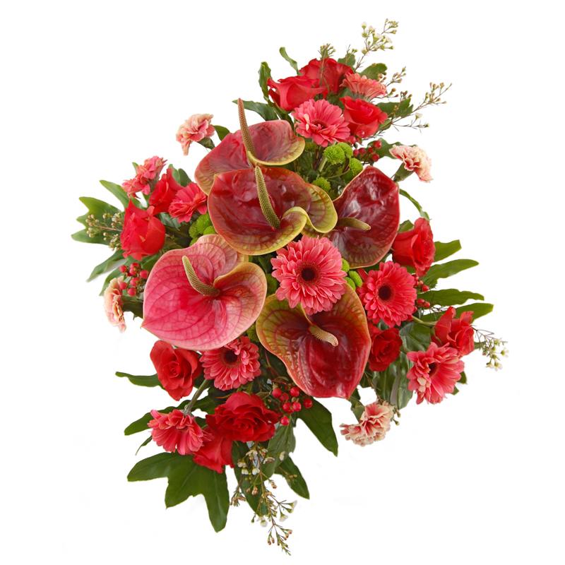 Wiązanka pogrzebowa – Czas zadumy Kwiaty na pogrzeb
