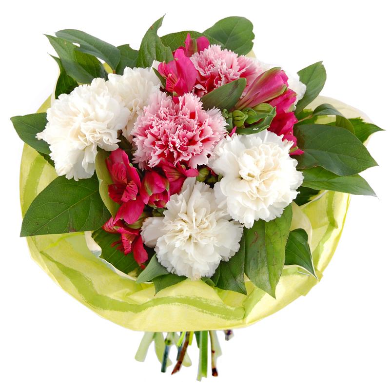 Bukiet z goździków Kwiaty