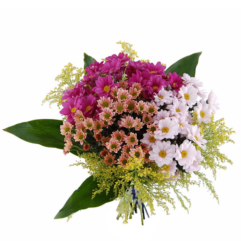 Bukiet barwy dnia Kwiaty