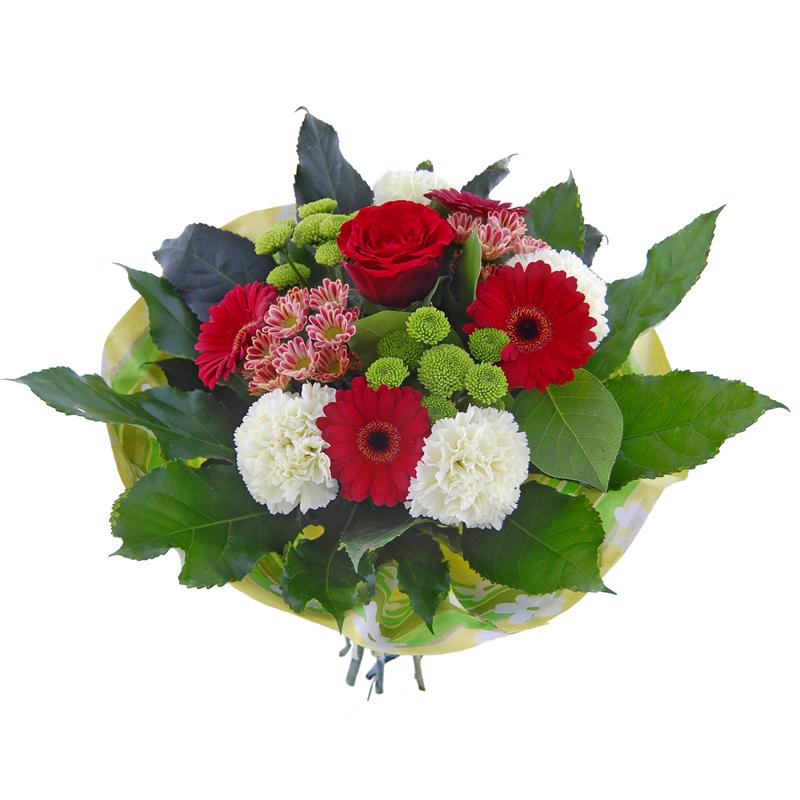 Bukiet barwy szczęścia Kwiaty