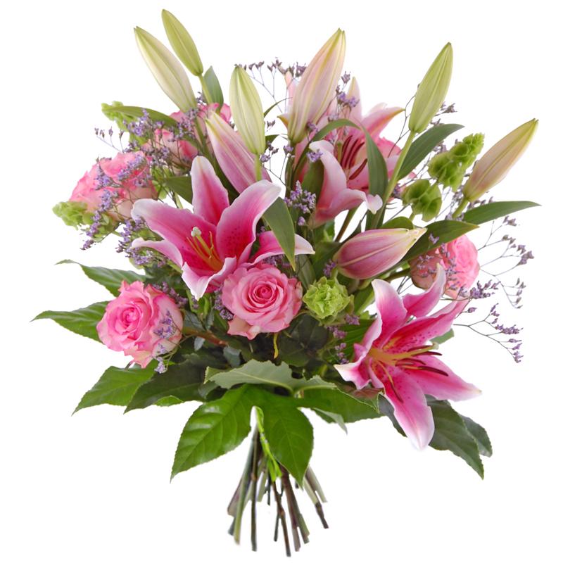 Bukiet z lilii Kwiaty