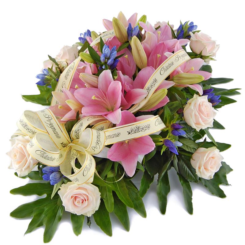 Wiązanka pogrzebowa – Ostatnie pożegnanie Kwiaty na pogrzeb
