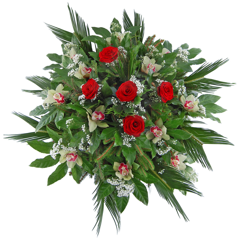 Wieniec pogrzebowy – Ukojenie duszy Kwiaty na pogrzeb